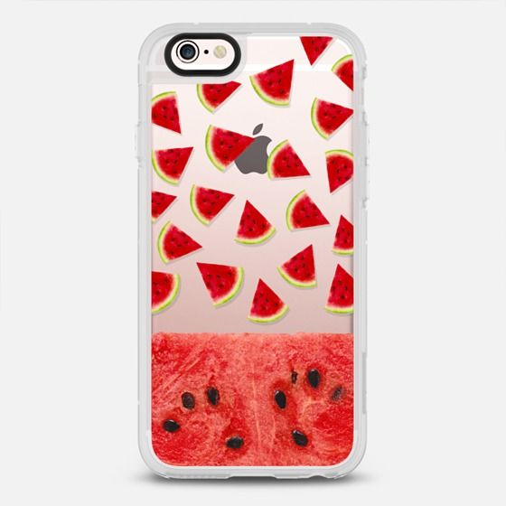 Watermelon Protective Iphone 6 Phone Case In Clear And Clear By