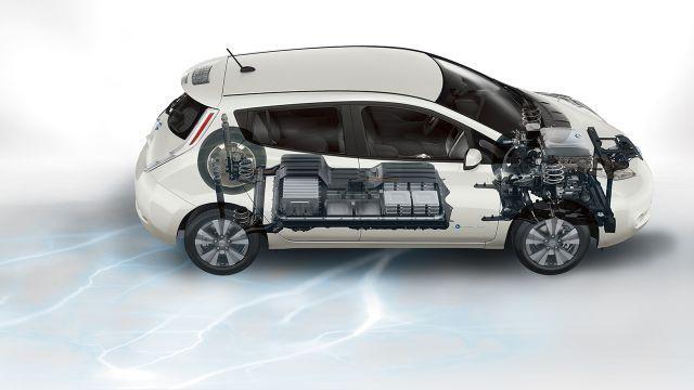 2016 Nissan Leaf Electric Car Battery