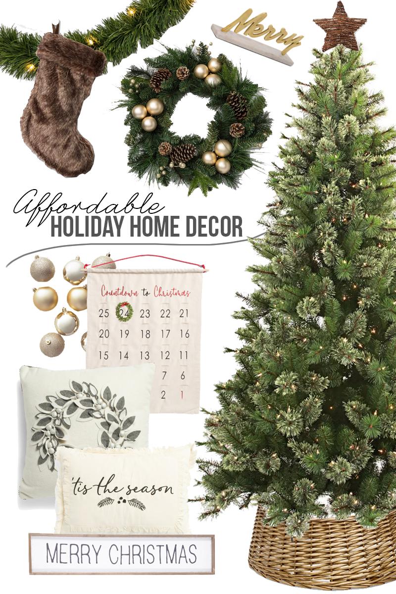 Affordable Christmas Holiday Home Decor The Geeky Fashionista Affordable Christmas Decorations Affordable Christmas Holiday