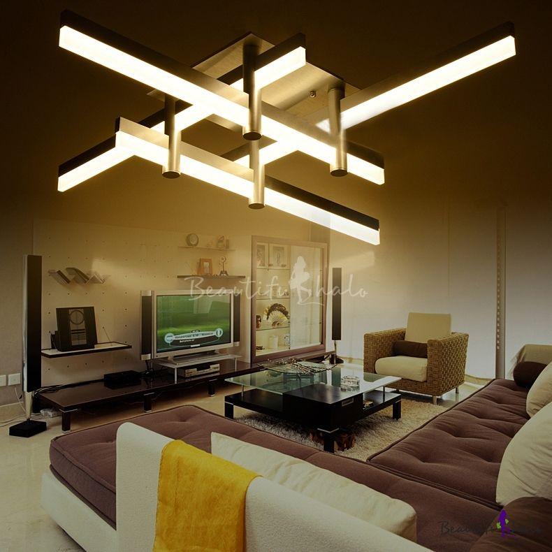 Large Led Bar Close To Ceiling Light Modern Cool Lighted Modern