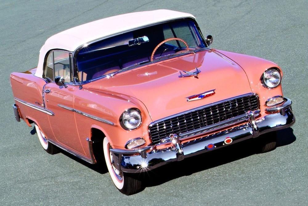 1955 Chevrolet Bel Air Sparkplug Heaven Pinterest
