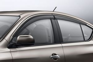 2017 Nissan Versa Side Window Deflectors H0800 3ba00 Nissan Versa Window Deflectors Nissan