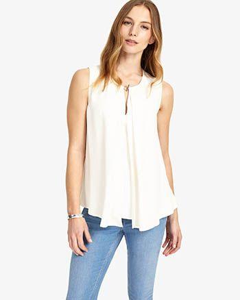 25d8e20c5952e2 Phase Eight Lexie Pleated Lace Blouse Cream   De Branco   Lace, Dress up  jeans, Blouse