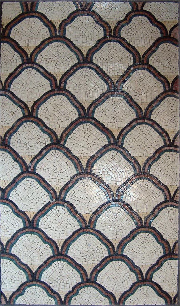 Pattern Tiles Geometric Mosaic Design In 2020 With Images