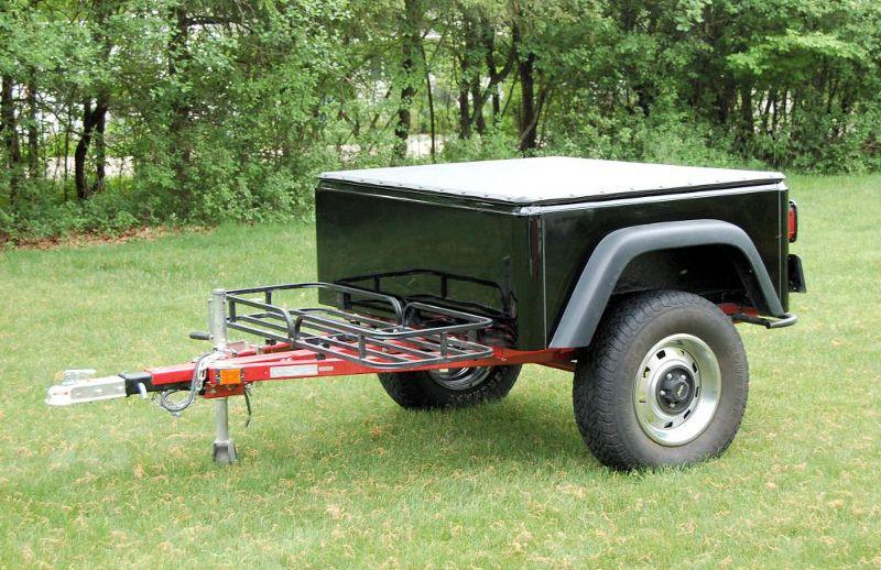 Dinoot Trailers Off road camper trailer, Motorcycle