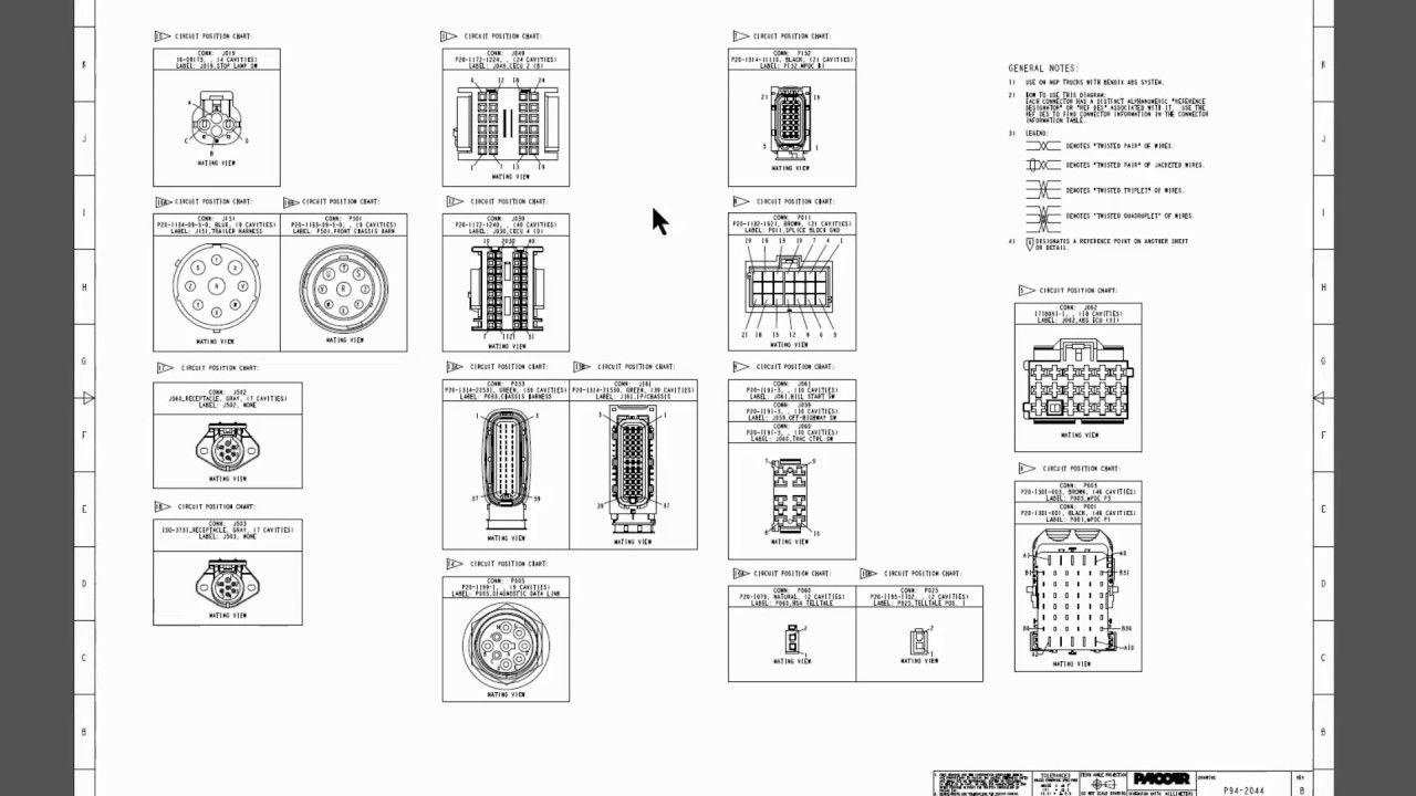 Kenworth Wiring Diagrams Kenworth Electrical Diagram Electrical Wiring Diagram