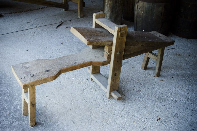 Shaving Horse | Middleton Plantation Traditional Workshop Tour ...