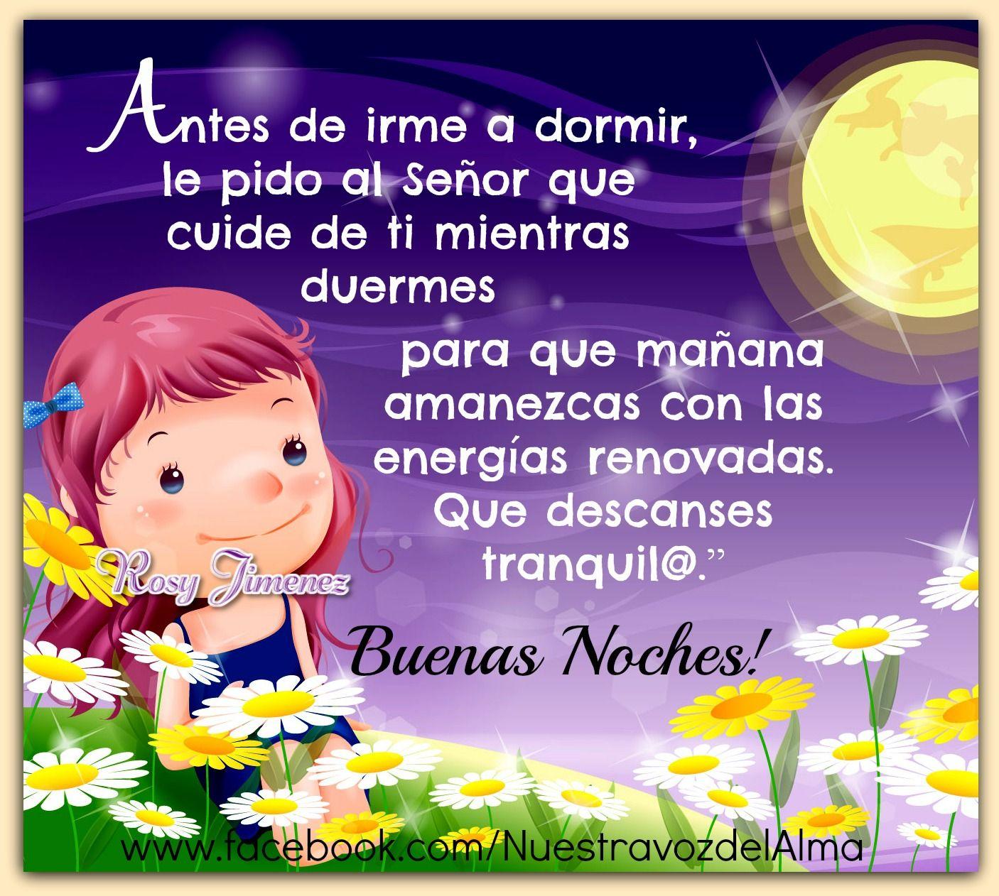 Nuestra Voz Del Alma Good Night Quotes Night Messages Good Night Moon