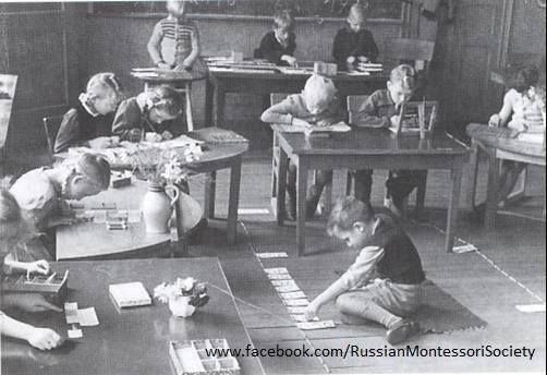 For those unfamiliar with the Montessori method, these historical images gathered from around the web show some of the characteristic featu...