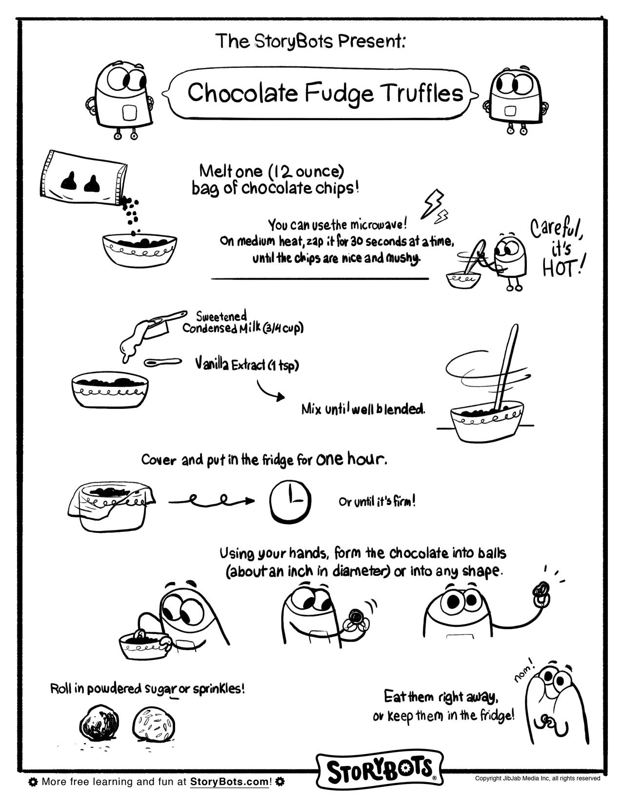 Nothing Says Valentine S Like Chocolate And These Chocolate Truffles Are A Snap To Make Just Use C Abc Worksheets Kids Math Worksheets Kindergarten Portfolio [ 1650 x 1275 Pixel ]