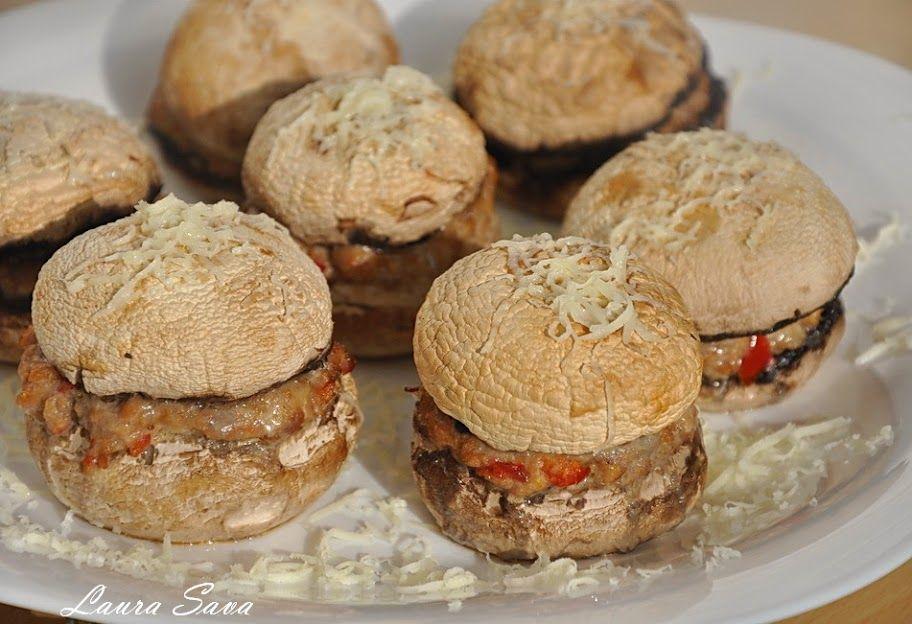 Hamburgeri de ciuperci | Retete culinare cu Laura Sava