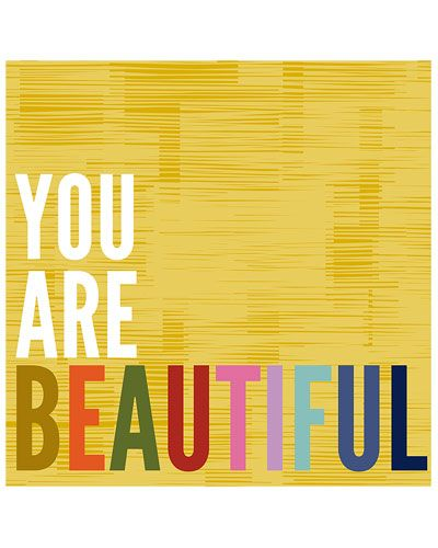 PTM Images 'You Are Beautiful' by Suzanna Sahakyan