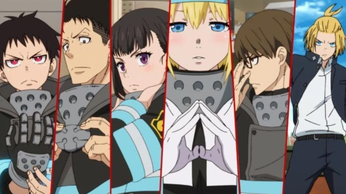Anime Fangirling Fire Force (With images) Anime, Shinra