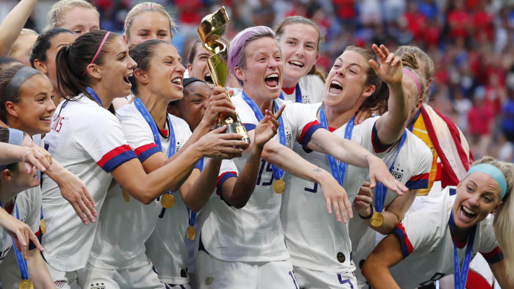 This Is A Major Victory In The Steps Towards Equal Pay For The Defending World Cup Champions Women S Soccer Team Womens Soccer Soccer Team