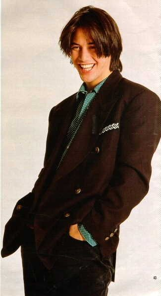 Keanu Reeves, what a babe