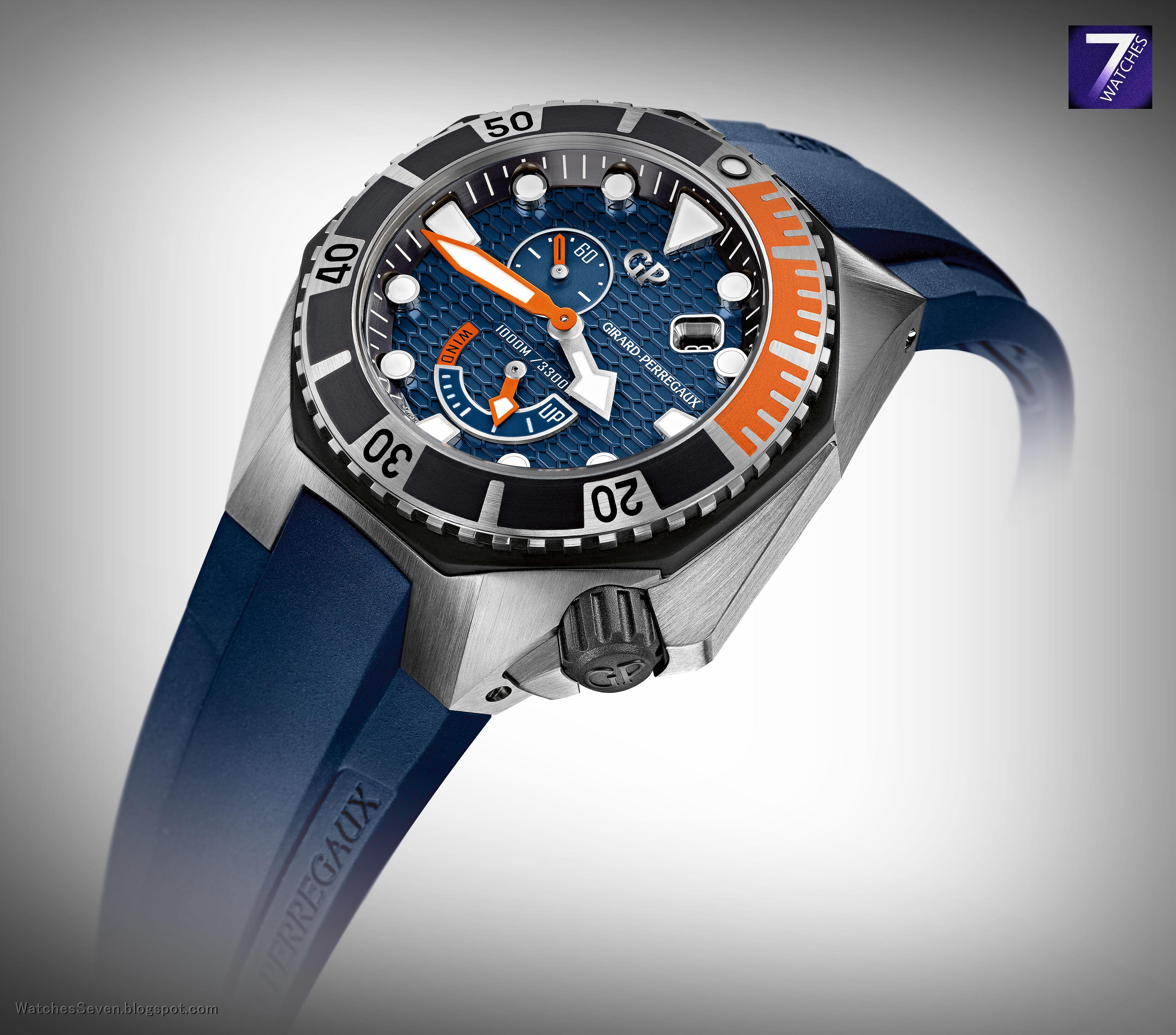 GIRARDPERREGAUX Sea Hawk Cobalt Blue Dial Reference