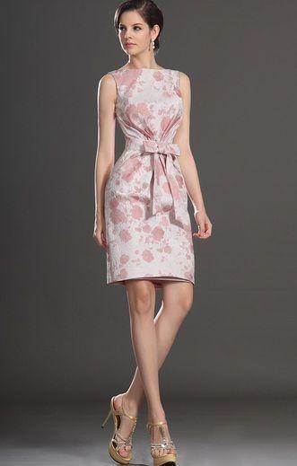 última venta excepcional gama de estilos y colores productos de calidad Precioso vestido Cocktail, con detalle de moño al frente y ...