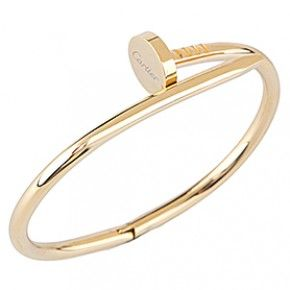 Cartier Replica Twisted Carpenter Nail Shaped Gold Plated ...