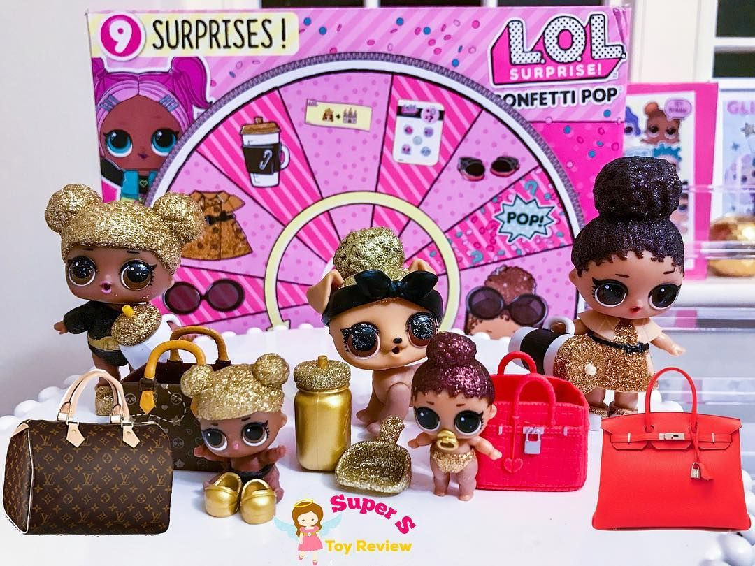 Louis Vuitton Hermes These Lol Girls Know How To Rock Their Stylish Outfits With Designer Purse Which Other Lol Dolls Do Lol Dolls Cookie Swirl C Dolls