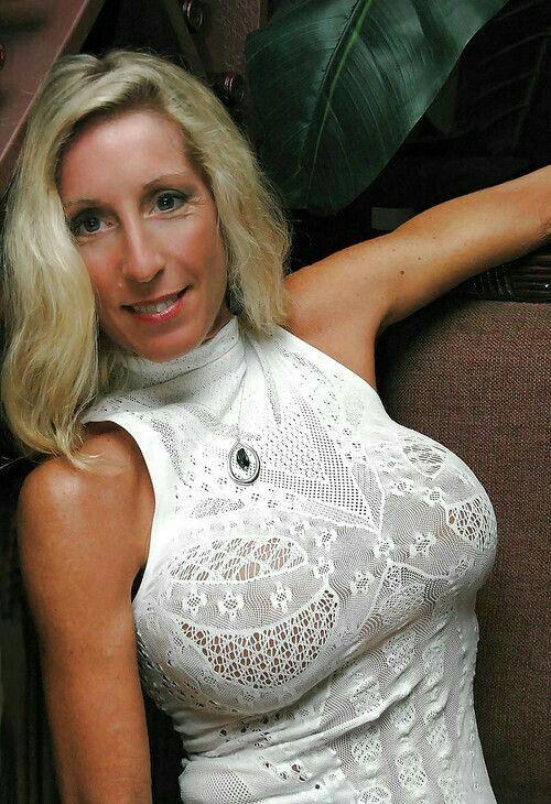 Mature blonde milf perky