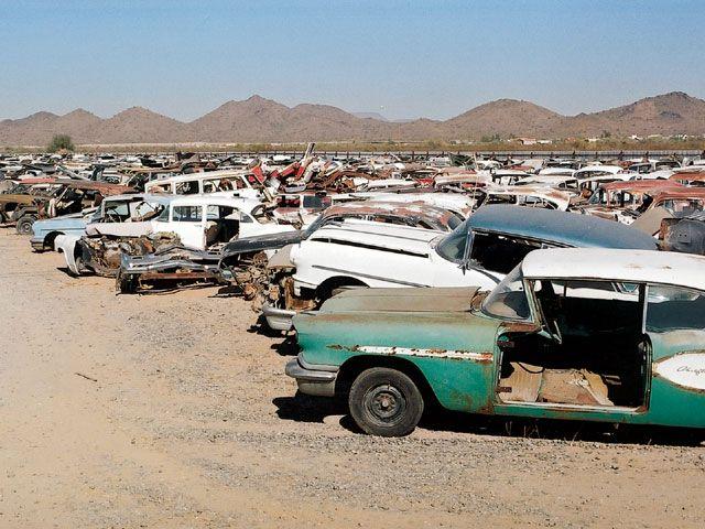 Arizona Junkyard Junkyard Abandoned Cars Junkyard Cars
