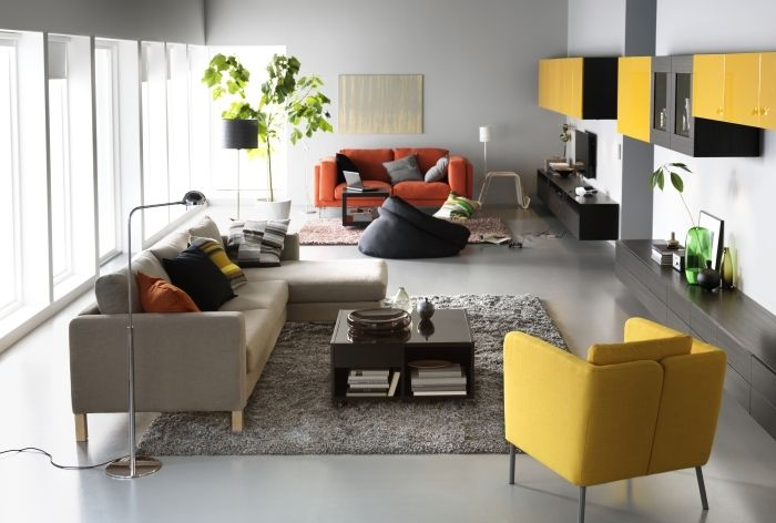 Ekero Armchair Skiftebo Yellow Ikea Living Room Living Room