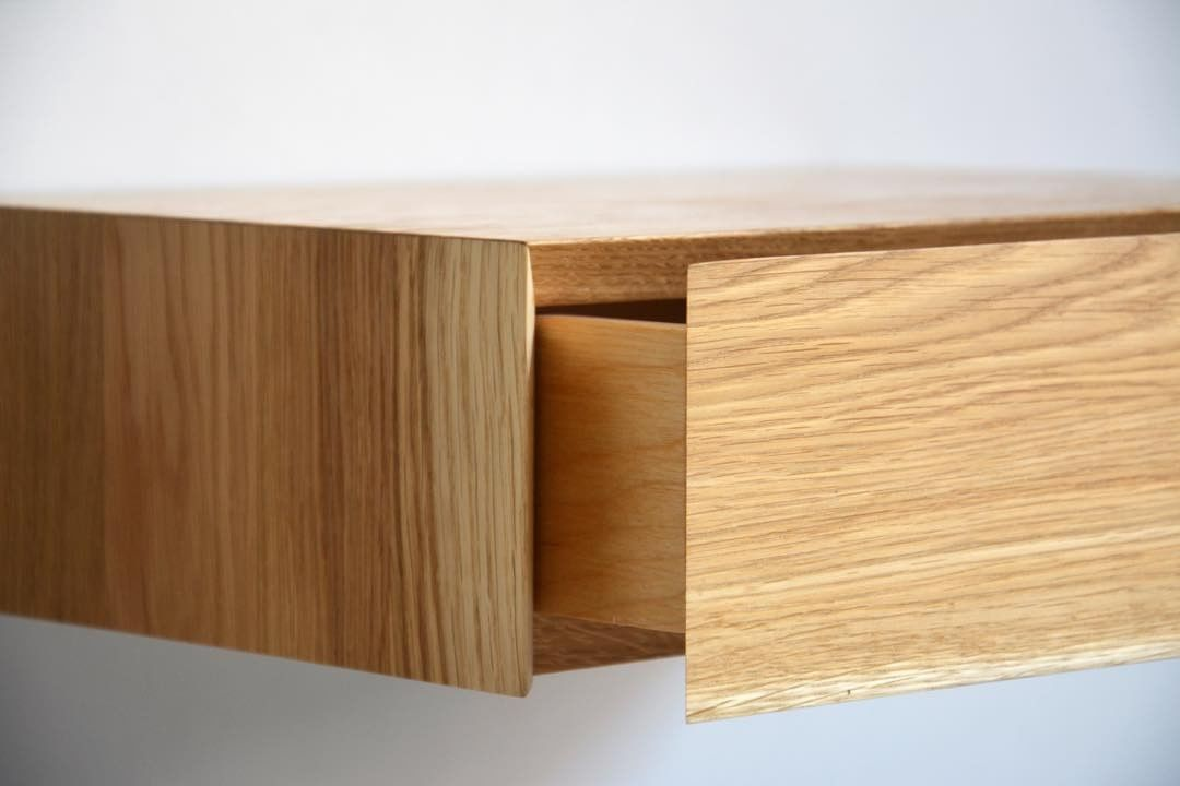 Here Is How The Seamless Drawer Connection Works On Our Minimalist Model Www Mybettershelf Com Minimalist Nightstand Minimalist Drawers Minimalist Drawers