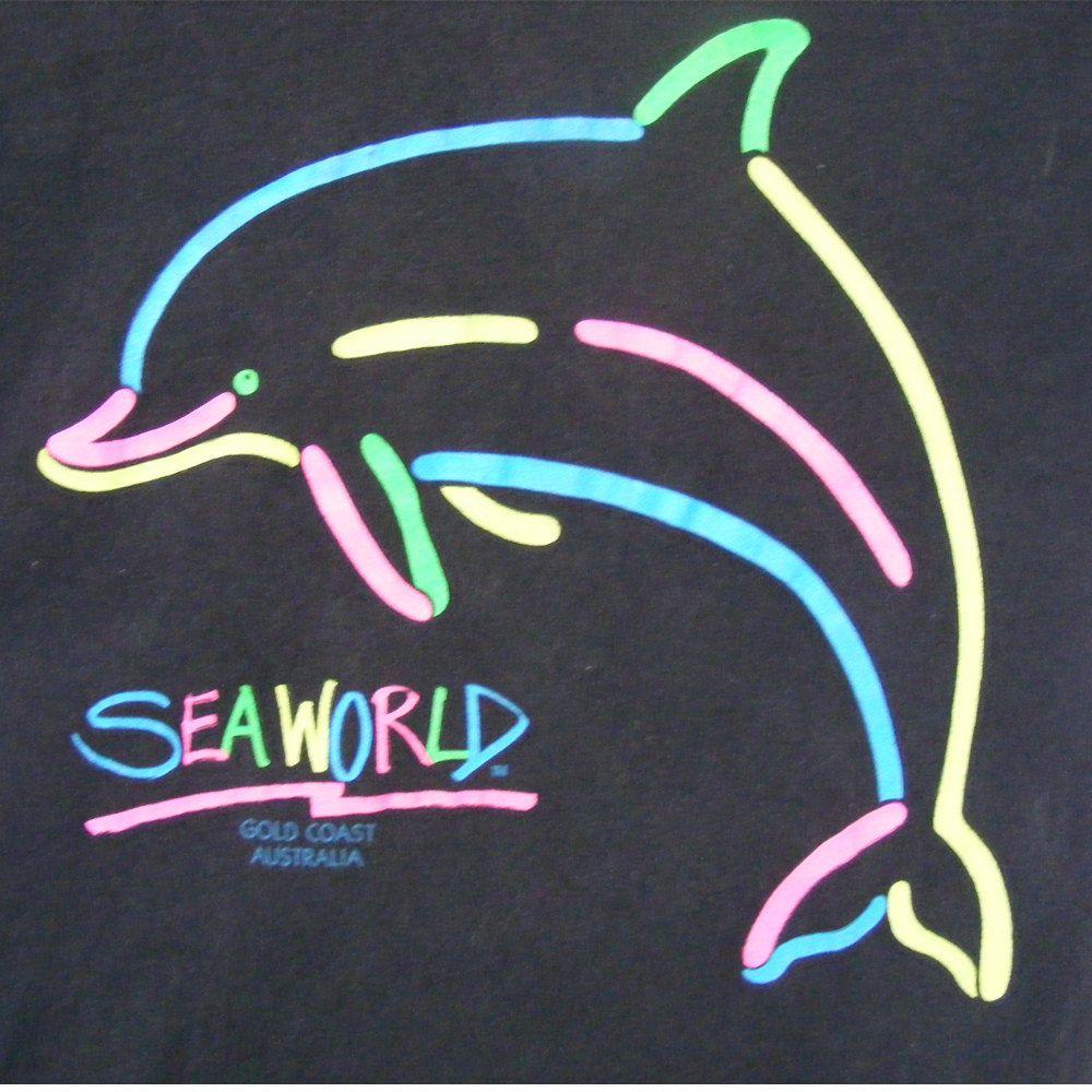 Dolphin Ocean Sea Womens T-shirt XS-3XL