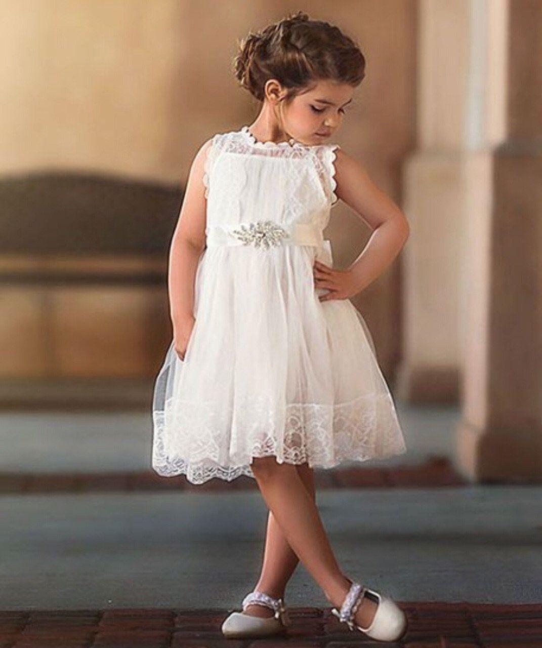 Buy flower girl dress ivory lace flower girl dresswith