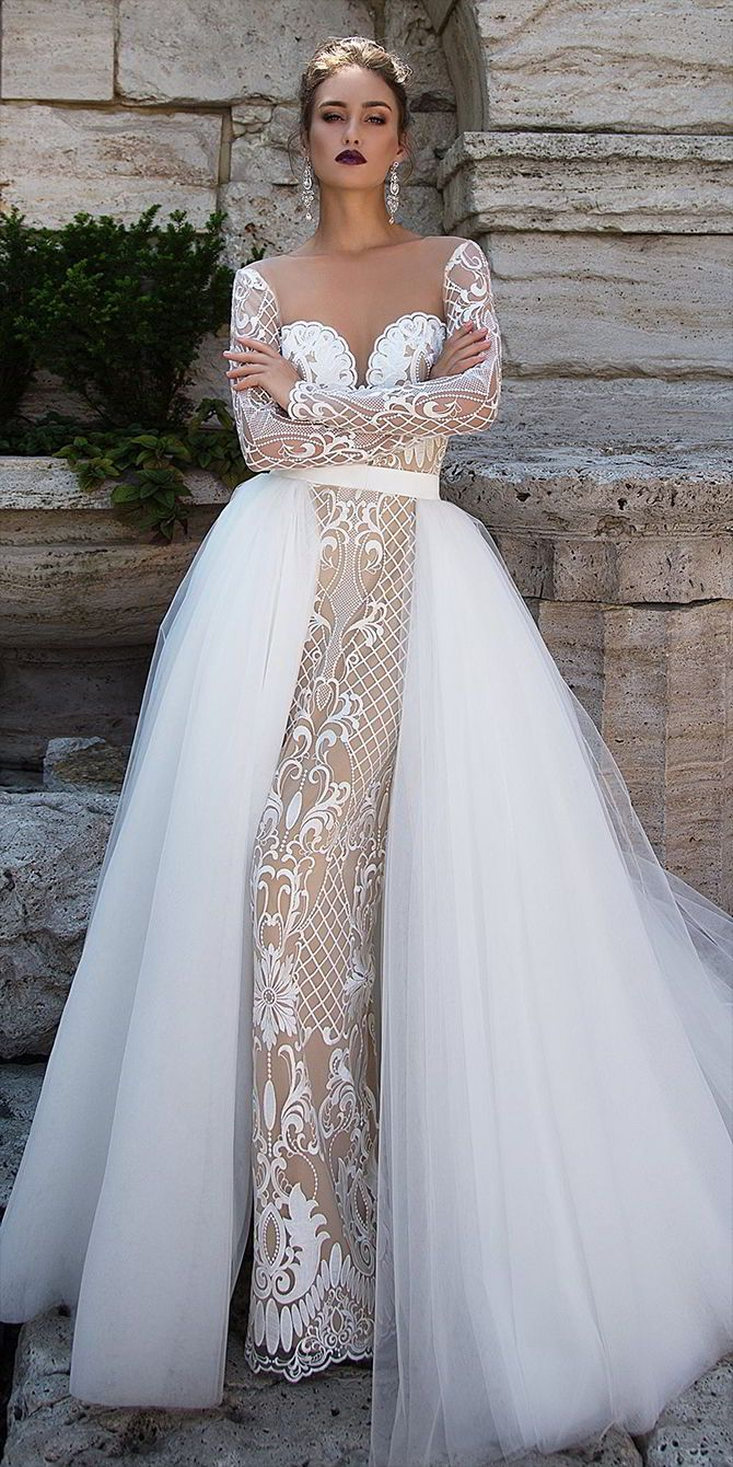 Ida-Torez-Fall-2017-Wedding-Dress-2-1.jpg (670×1340) | one day ...