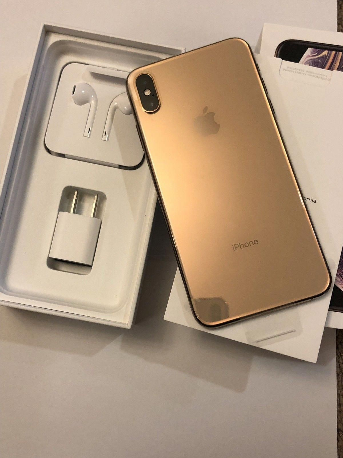 Apple Iphone Xs Max 512gb Gold Verizon A1921 For Sale Free