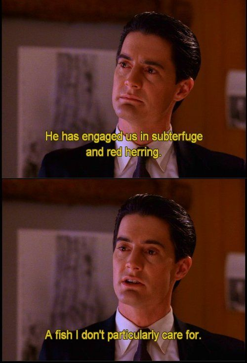 Best Twin Peaks Quotes agent cooper. The best | Well said! | Pinterest | Twin peaks  Best Twin Peaks Quotes