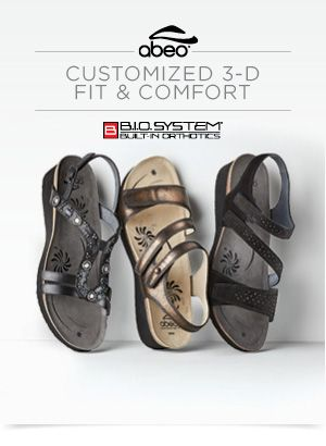 795f20a01 Customized 3-D Fit   Comfort with ABEO B.I.O.system®