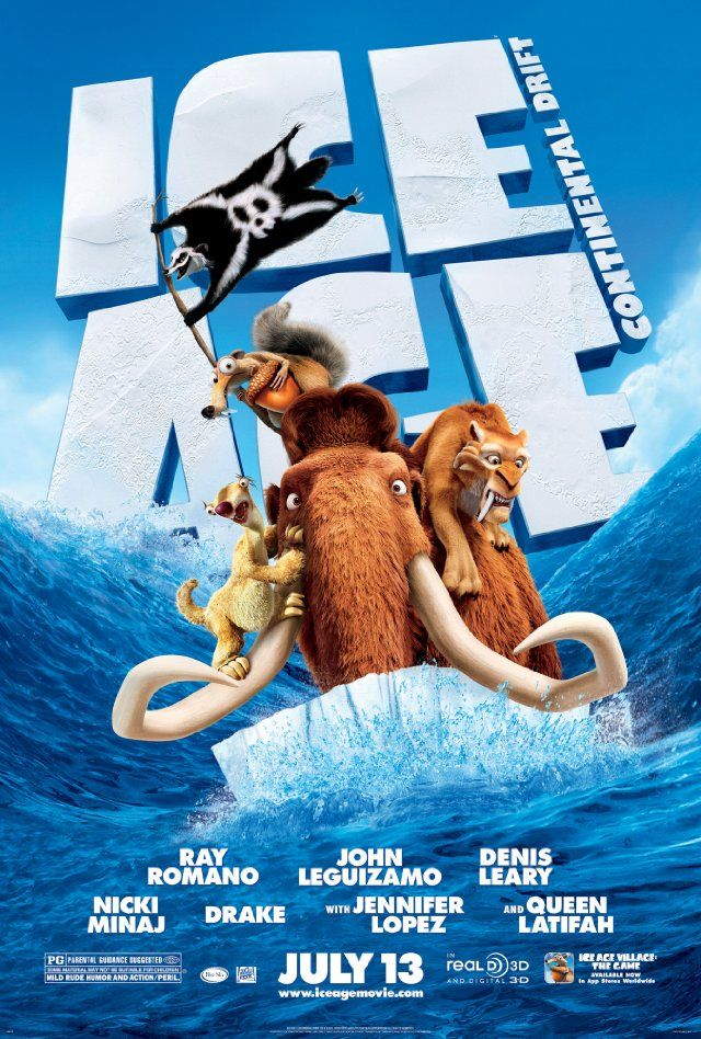 Movies I Ve Watched Ice Age Continental Drift 2012 Ice