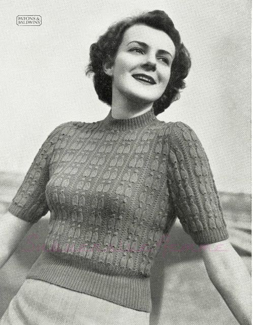 Free Pattern: Pagliacci Jumper in two sizes, Patons Knitting Book No ...