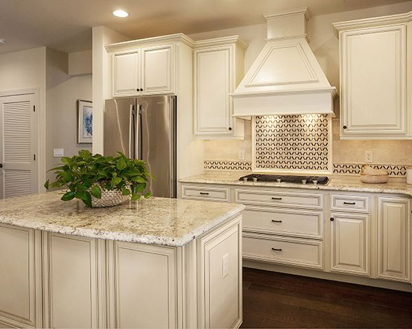 Cabinet Refacing Creates A Traditional Masterpiece
