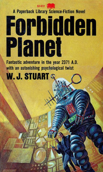 Forbidden Planet. Cover art by Jack Gaughan #scifi #sciencefiction