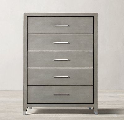 Graydon Shagreen 5 Drawer Narrow Dresser Dresser Drawers Narrow Dresser 9 Drawer Dresser