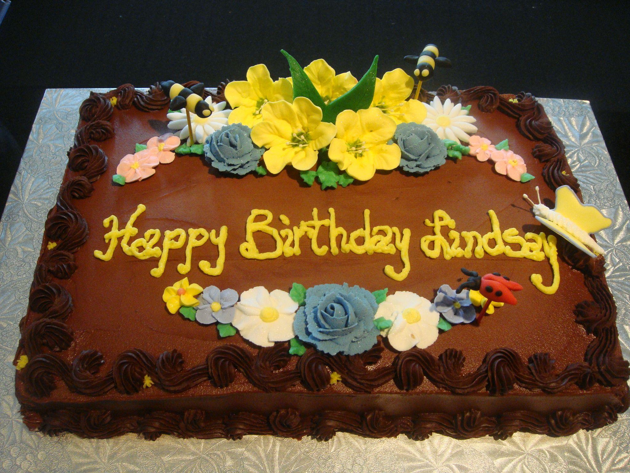 Chocolate Sheet Cake Chocolate Sheet Cake Birthday Sheet Cakes