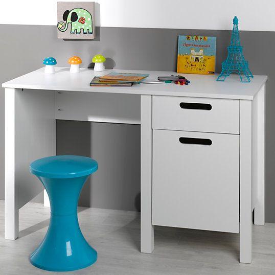 Bureau Sacripant Blanc Desk Office Desk Corner Desk