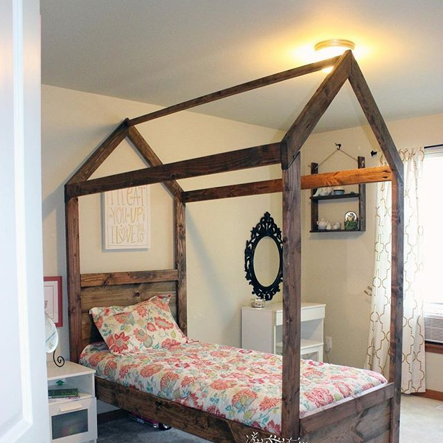 Kids Canopy Bed Diy Http Www Ana White Com 2013 09 Plans