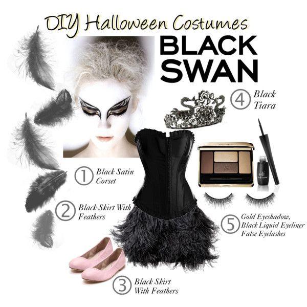 DIY Halloween Costumes Black Swan\ - black skirt halloween costume ideas