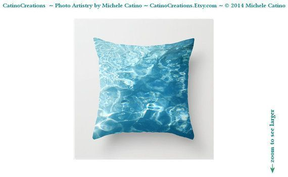 Water Ripples Photo Pillow, Abstract Pool Water pillow case, Lake Water Toss Pillow, Aqua Blue Cushion Case, Summer Beach Throw Pillow - ArtistBeeBee #waterripples Water Ripples Photo Pillow, Abstract Pool Water pillow case, Lake Water Toss Pillow, Aqua Blue Cushion Case, Summer Beach Throw Pillow Abstract Turquoise Water Ripples Pool Splash by CatinoCreations #waterripples Water Ripples Photo Pillow, Abstract Pool Water pillow case, Lake Water Toss Pillow, Aqua Blue Cushion Case, Summer Beach T #waterripples