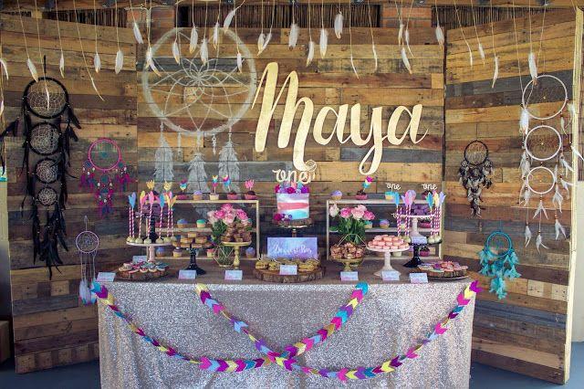 Little Big Company The Blog Maya S Boho Themed 1st