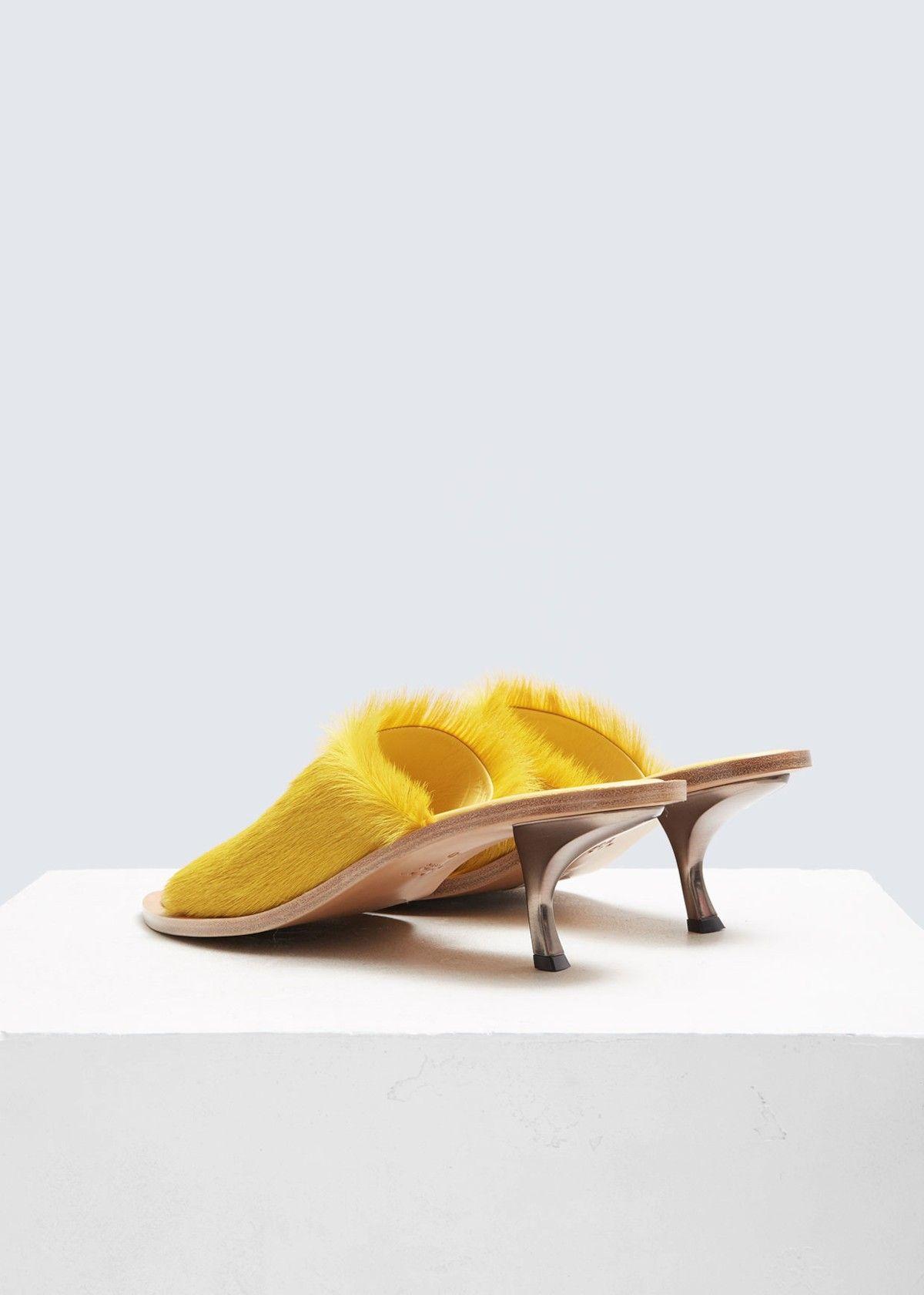 Marni Fur Heeled Sandal Fur Heels Sandals Heels Shoes
