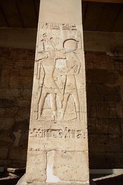 Templo de Sethi I , Abidos. | por Soloegipto
