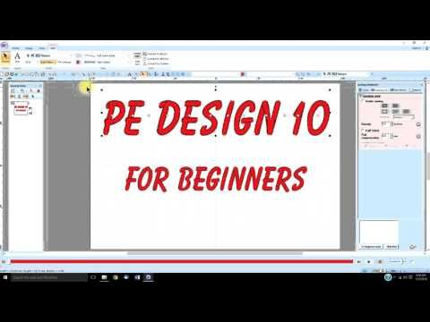 Pe Design 10 Lesson 1 Introduction Youtube Pe Design Tutorials