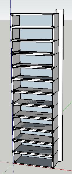 Best Folding Spiral Staircase Bookshelf Bureau Spiral 400 x 300