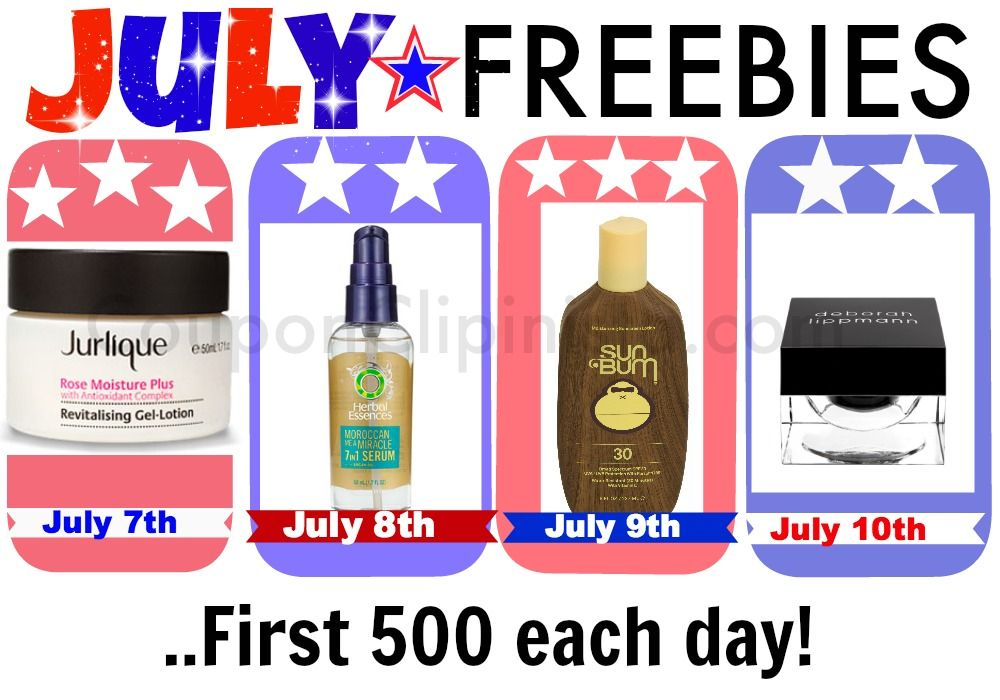 Allure FREE FULL SIZE July Freebies - Coupon Clipinista