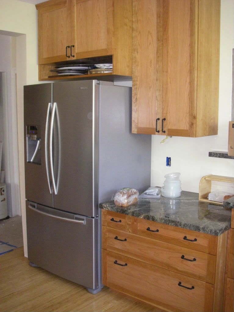 Refrigerator Not Boxed In Deeper